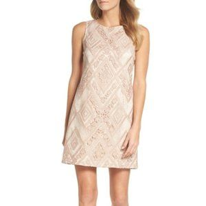 $178 New Vince Camuto Sequin Embroidered Dress 14